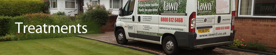 Lawn treatment in North Worcestershire, by Lawn3